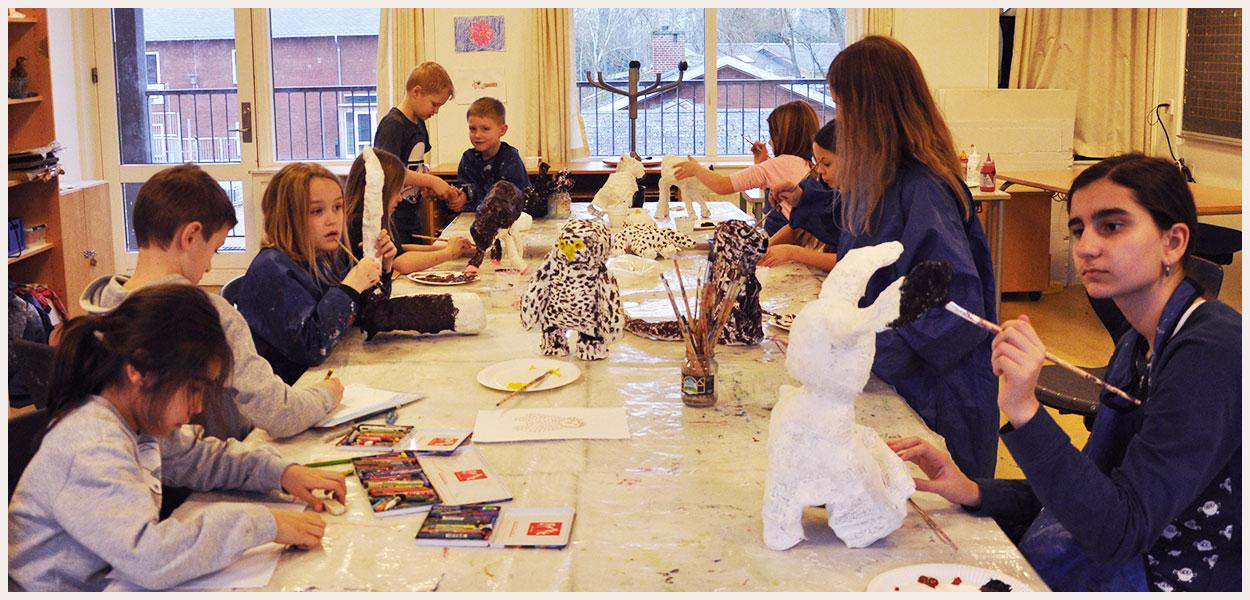 Fotos: Tegning, Maleri Og Skulptur 2015-16